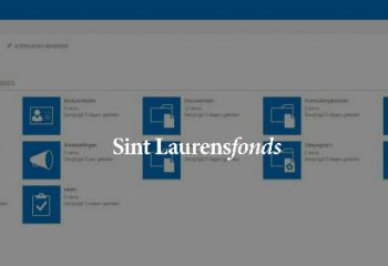SharePoint intranet voor Sint Laurensfonds